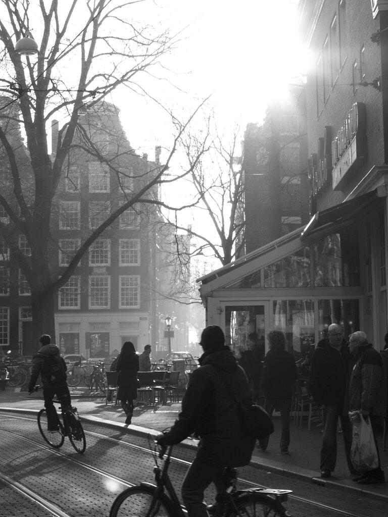 Amsterdam im März
