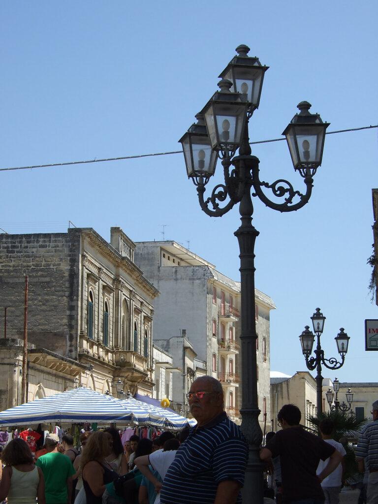 Markt irgendwo in Apulien