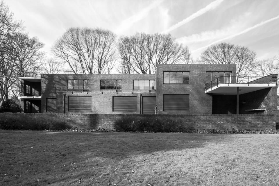Haus Lange Mies Van Der Rohe Fotos Von Michael Dworschak Aachen