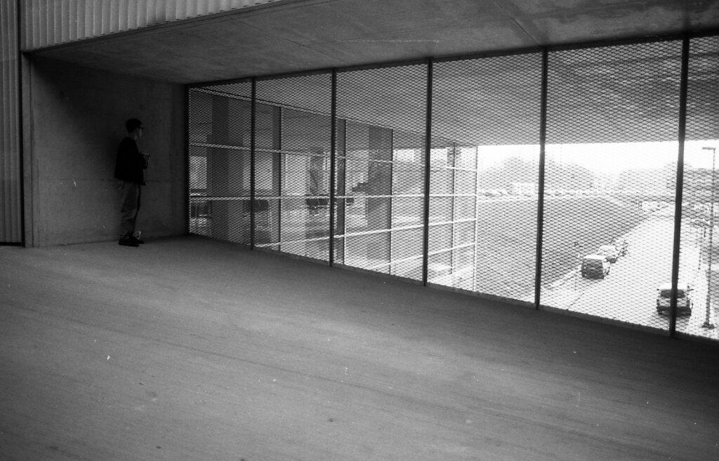 Kunsthal, Kasse; Rotterdam Mitte 1990er