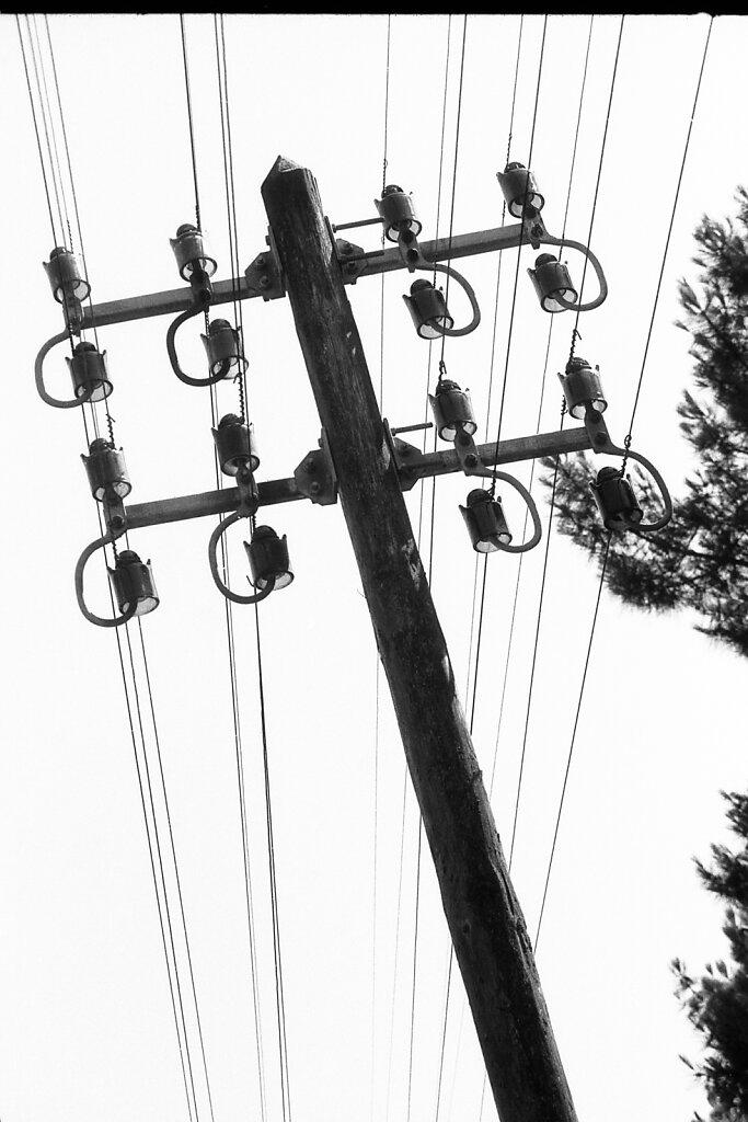 Telegrafenleitung